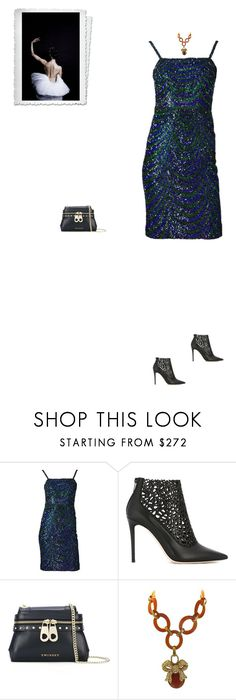 """""""#7716 - A Night at the Mariinsky Theatre in Russia"""" by pretty-girl-in-fashion ❤ liked on Polyvore featuring Christian Dior, Jimmy Choo, Twin-Set, Nina Ricci, glam and MariinskyTheatre"""
