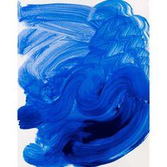 Howard Hodgkin's explosion of cobalt entitled 'Swimming'