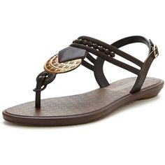 Grendha Tribal Sandal (4965 RSD) ❤ liked on Polyvore featuring shoes, sandals, grendha sandals, toe thong sandals, decorating shoes, toe thongs and grendha shoes