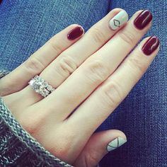 Déco ongles hiver 2017