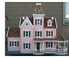 miniature dollhouse kits and doll houses, assembled doll houses- good site with good prices on furniture and accessories