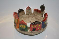Windlichter - Windlicht Keramik - ein Designerstück von Konform-art bei DaWanda