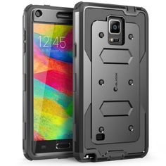 #amazon Galaxy Note 4 Case, i-Blason Armorbox Dual Layer Hybrid Full-body Protective Case For Samsung Galaxy Note 4 [SM-N910S / SM-N910C] with Front Cover and Built-in Screen Protector / Impact Resistant Bumpers (Black) - $16.99 (save 58%) #iblason #iblasonllc #wirelessphoneaccessory