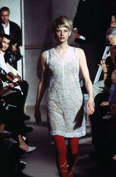 1996 - Helmut Lang Show - Kirsten Mc Menamy