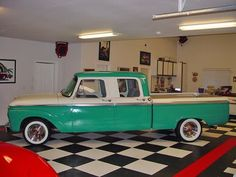 Browse all of the 1966 Crew Cab Ford photos, GIFs and videos. Find just what you're looking for on Photobucket Old Dodge Trucks, Vintage Pickup Trucks, Classic Ford Trucks, Ford Pickup Trucks, Lifted Trucks, Classic Cars, Ford Motor Company, Cool Trucks, Big Trucks