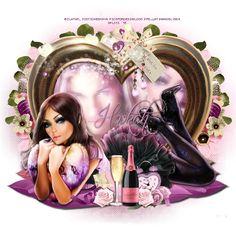 Ria's PSP Paradise: Love Is - CT PTU Tut - Flirtacious by Jackie's Jewels