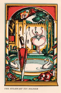 Andersen's Fairy Tales - illustrated by Elizabeth MacKinstry, introduction by Anne Carroll Moore (1933)