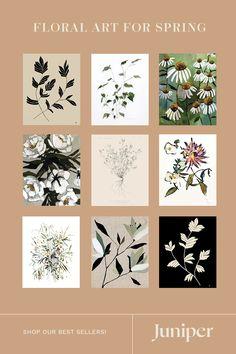 Paint Samples, Stylish Kids, Affordable Art, Finding Joy, Vintage Art, Alaska House, Diy And Crafts, Floral Prints, Gallery Wall