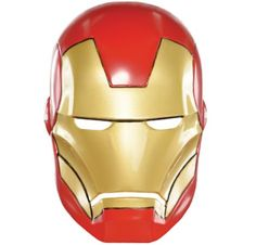 Plastic Iron Man Mask for Children - Party City