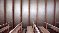 ArcDog Film: Saint Benedict Chapel I Peter Zumthor. Image  ArcDog. #SaintBenedictChapel #Chapel #Church #PeterZumthor #Zumthor #Sumvitg #Switzerland #Graubünden #Wood #ArcDogFilm #Architecture #Architect #Film #ArcDog #Filmmaking