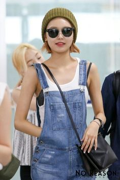 SNSD Sooyoung airport fashion, love it! <3