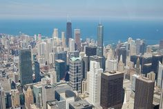 SkyDeck Chicago Willis Tower, 9/4/09 by Bari D, via Flickr