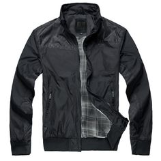 Clothing spring male jacket casual stand collar men's clothing outerwear slim fashion spring and autumn $38.75