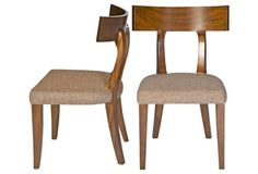 Wheat Live Dining Chairs, Pair