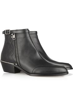Chloé | New Susanna embossed leather boots | NET-A-PORTER.COM