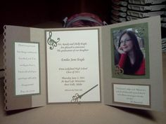 Daughters Graduation Announcement by stampinshellbug - Cards and Paper Crafts at Splitcoaststampers