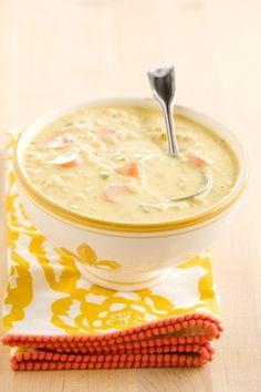Bobby's Lighter Corn Chowder:  Nutritional Information:    (1 cup): 167 Cal (15% from Fat, 23% from Protein, 62% from Carb); 10 g Protein; 3 g Tot Fat; 1 g Sat Fat; 1 g Mono Fat; 27 g Carb; 2 g Fiber; 5 g Sugar; 117 mg Calcium; 1 mg Iron; 668 mg Sodium; 6 mg Cholesterol