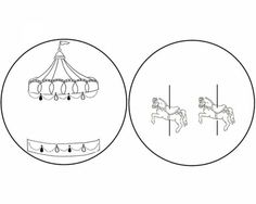 10 jolis thaumatropes à fabriquer | La cabane à idées