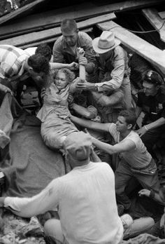 Photos from the 1953 tornado that decimated Waco, Texas
