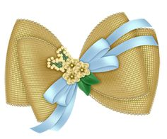 Beautiful Transparent Yellow Bow with Flowers Clipart Ribbon Png, Ribbon Bows, Ribbons, Pink And Gold Wallpaper, Ribbon Headbands, Bow Design, Blue Bow, Flowers In Hair, Clipart