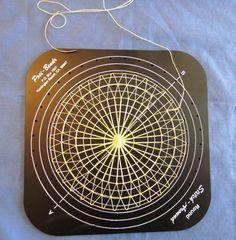 Bildergebnis für Japanese Koppo cushion pin loom for teneriffe lace