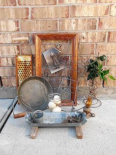 Farmhouse Finds  Rustic Home Decor Collection  by TimelessNchic, $134.95