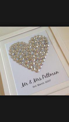 Ein Schones Selbstgemachtes Geschenk Zum 30 Hochzeitstag Pearl