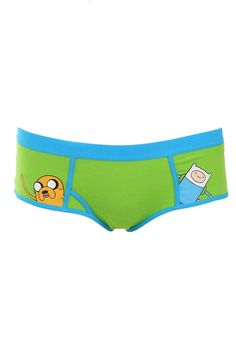 Apparently they sell Adventure Time ladies undies at Hot Topic? I'm nerd-smitten.
