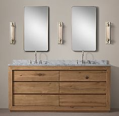 RH's All Vanities & Sinks