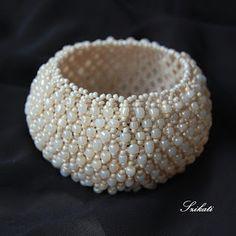 Tekla pearl bracelet by Szikati