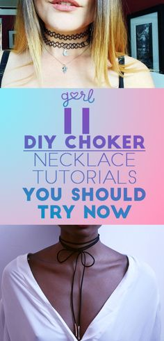 11 Easy DIY Choker Necklace Tutorials You Should Try Now