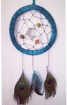 Crafty project to start my week off right made this dreamcatcher wall hanger out of....Two paper plates! . Cut the middle of the plates out Taped them all ... & How to make a paper plate Dreamcatcher DIY Arts u0026 Crafts Project # 5 ...