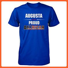 Augusta Proud American July 4th Independence Day Gift - Unisex Tshirt Royal S - Holiday and seasonal shirts (*Partner-Link)