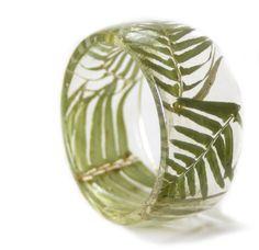 Vert fougère Bracelet bracelet vert vert par ModernFlowerChild