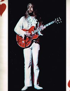 Leon Russell, from 1972 Concert Souvenir Photo Book