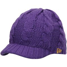 b1cd8b14cc9 Minnesota Vikings New Era Women s Arctic Blast Cable Cadet Beanie - Purple