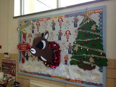 December Bday Board- I like the tree