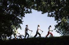 Escursioni nordic walking trentino - vitanova trentino wellness