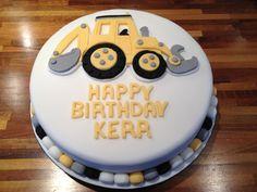 Boys 'digger' cake :-)