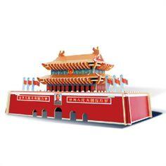 3D Wooden Puzzle -Tiananmen - New Arrivals- - TopBuy.com.au