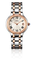 Model 382203 Ladies Sultana watch Stainless steel and rose gold plated Rose Gold Plates, Rolex Watches, Bracelet Watch, Stainless Steel, Jewels, Accessories, Model, Products, Bijoux