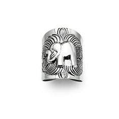 River Island Jewelry 925 Sterling Silver Mystical Good Luck Elephant Unisex Ring Size 9 *** Want additional info? Click on the image.