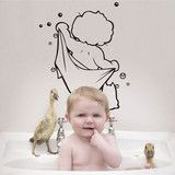 Bath Boy Removable vinyl wall art