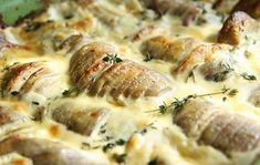 Πατάτες ψητές αλά καρμπονάρα (4 μονάδες)