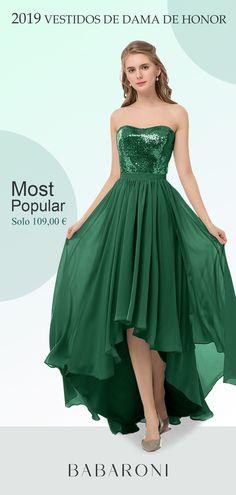 4d98d315a Marguerite es un vestido alto-bajo asimétrico encantador con corte A. Y es  que