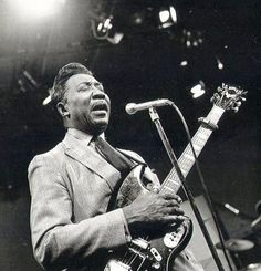 "McKinley Morganfield, known as Muddy Waters, 1915-1983  a blues musician, generally considered the ""father of modern Chicago blues"".  Pictured here in 1979."
