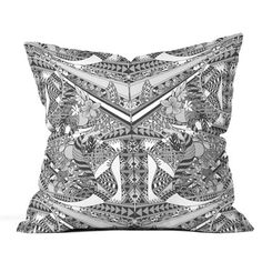 Grey Folk Cushion, 29,90€, now featured on Fab.