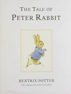 READ IT: The Tale of Peter Rabbit by Beatrix Potter - a book from my childhood!