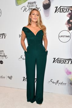 NEW YORK, NY - APRIL 21:  Blake Lively attends Variety's Power of Women: New York at Cipriani Midtown on April 21, 2017 in New York City.  (Photo by D Dipasupil/FilmMagic) via @AOL_Lifestyle Read more: https://www.aol.com/article/entertainment/2017/04/21/blake-lively-scolds-reporter-at-varietys-power-of-women-lunch/22049807/?a_dgi=aolshare_pinterest#fullscreen