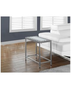 Monarch Tile Top & Hammered Silver Accent Side Table is on Rue. Shop it now.